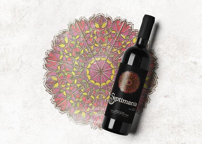 Septimania葡萄酒瓶贴设计欣赏