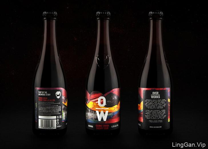 BrewDog酸啤酒包装设计