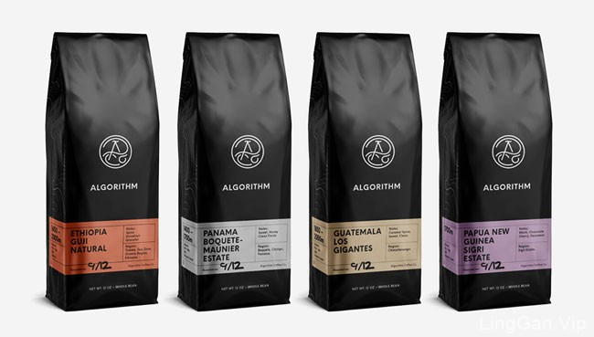Algorithm特种咖啡包装设计
