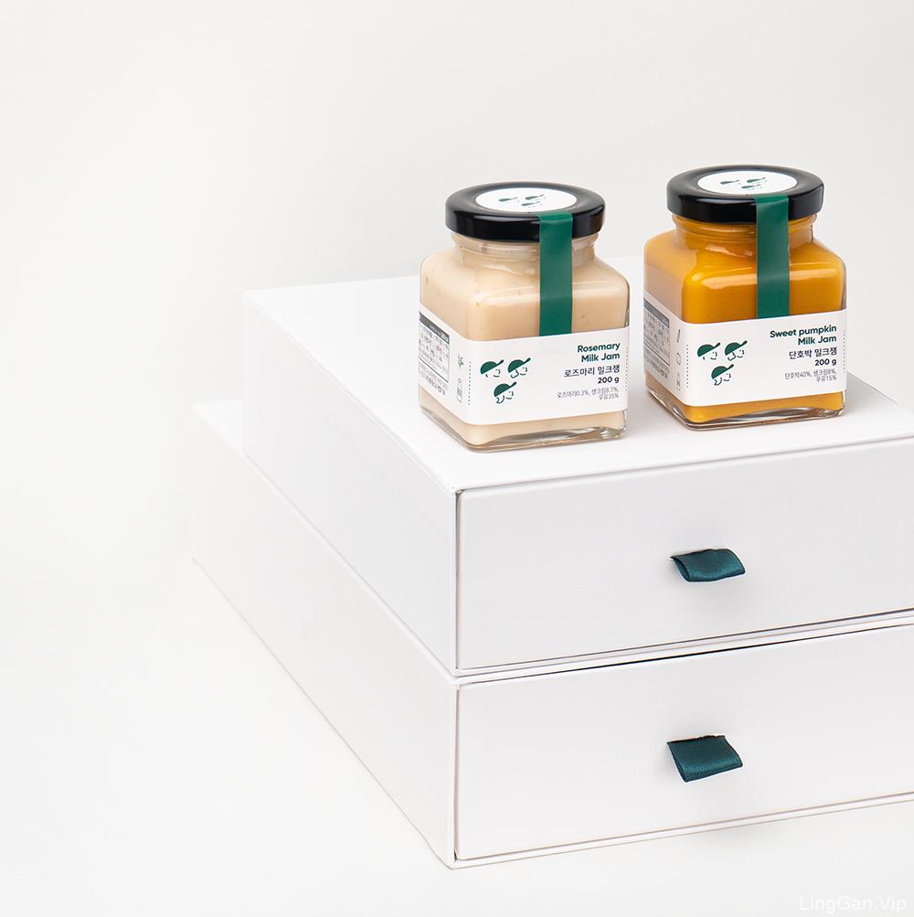 韩国3SPOON果酱包装设计