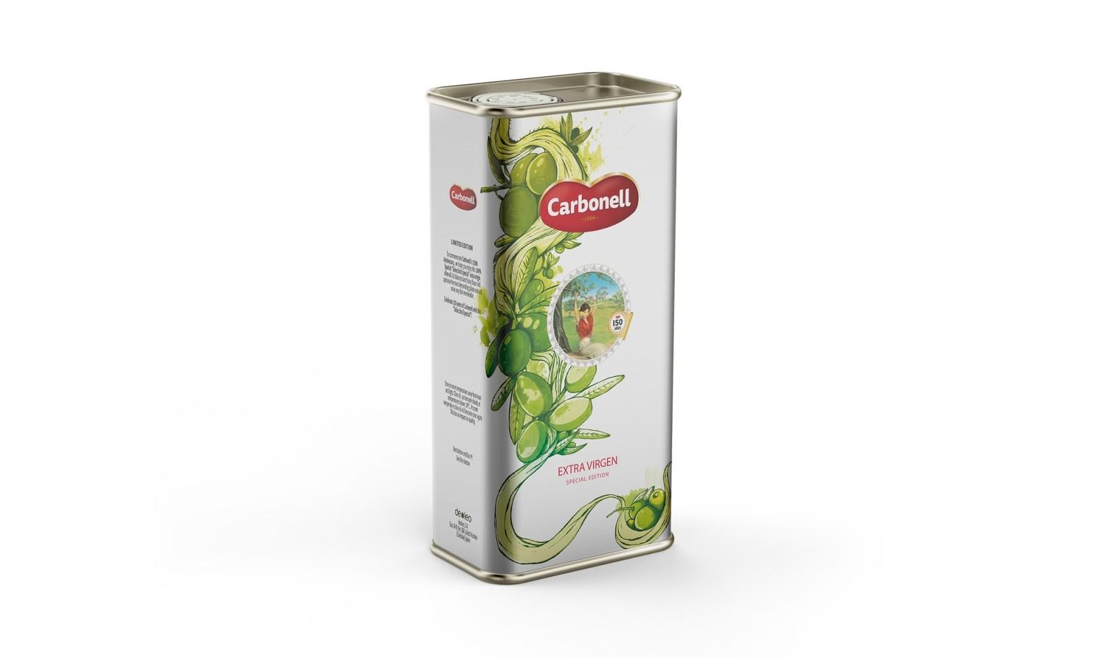 Carbonell橄榄油包装设计