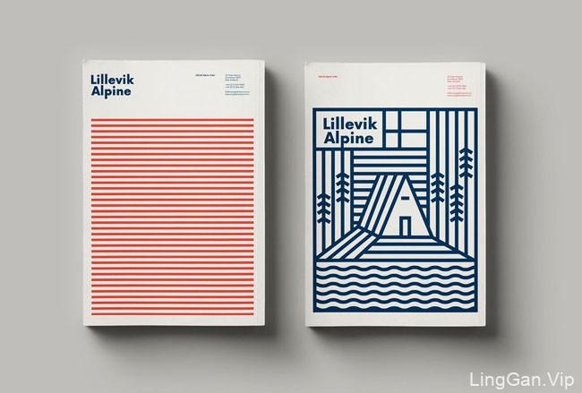 Lillevik Alpine苹果酒包装设计