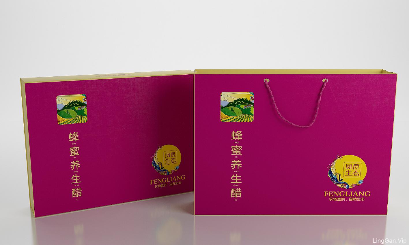 凤良生态醋—徐桂亮品牌设计