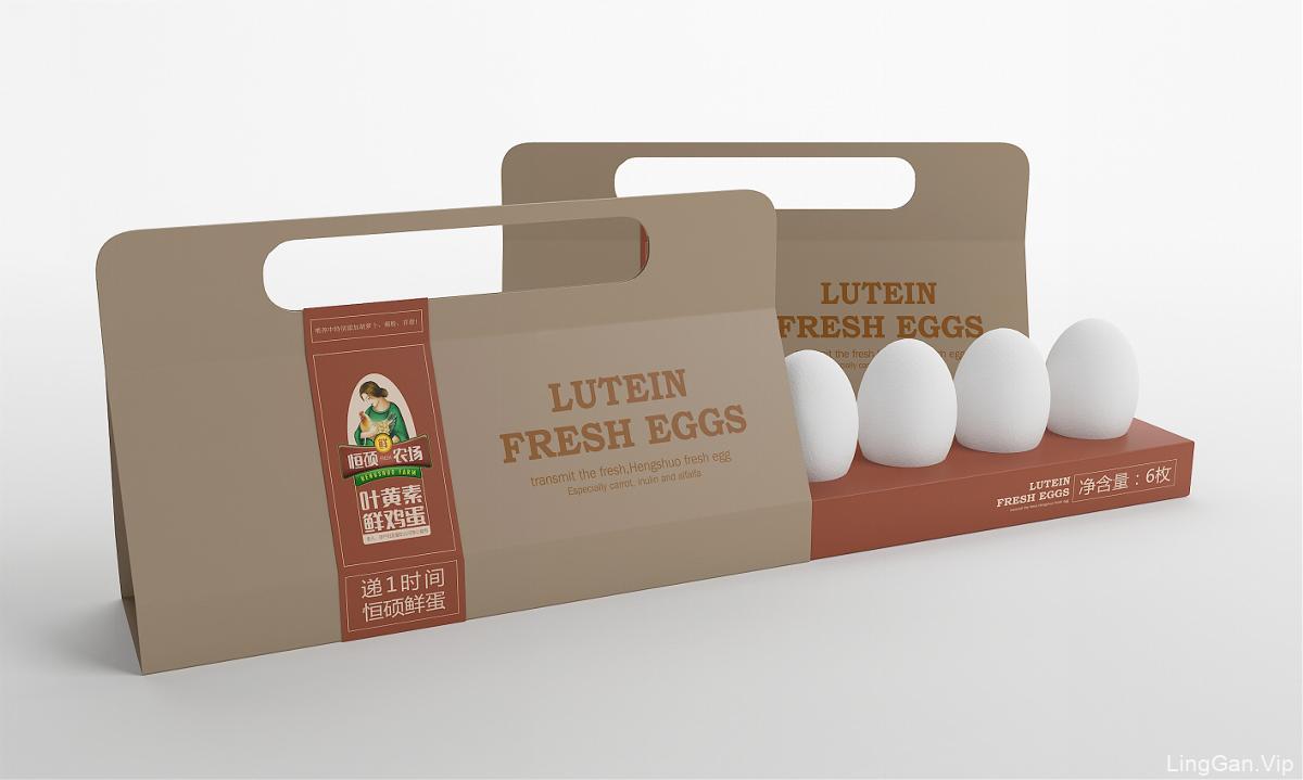 恒硕农场递1时间鲜鸡蛋——徐桂亮品牌设计