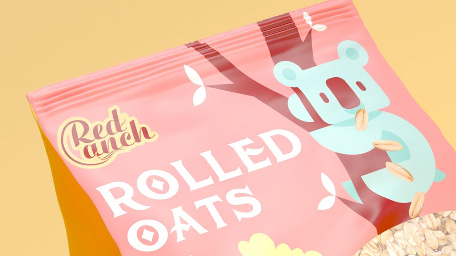 澳洲燕麦包装设计