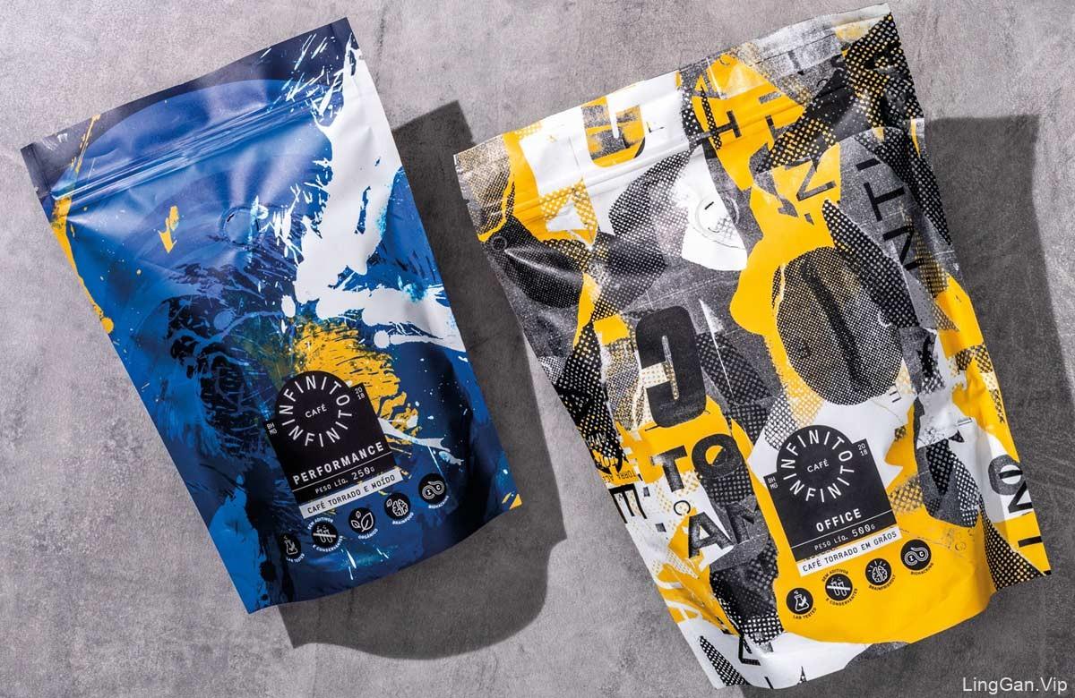 色彩张力!咖啡品牌包装设计