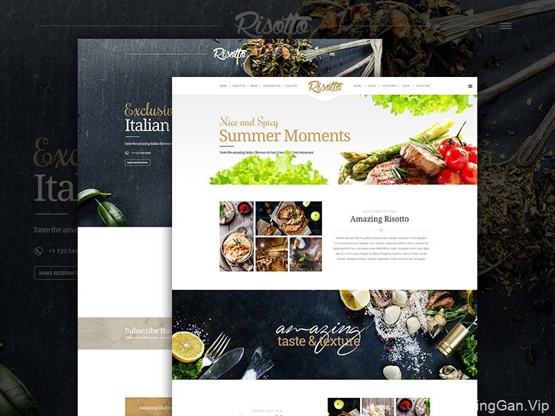 嘿,你吃了没?12组餐厅网站界面设计