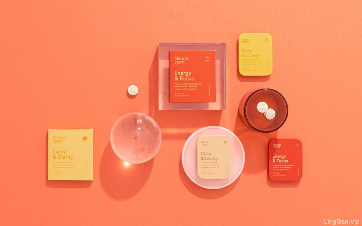 色彩能量!简洁大方的食品包装设计