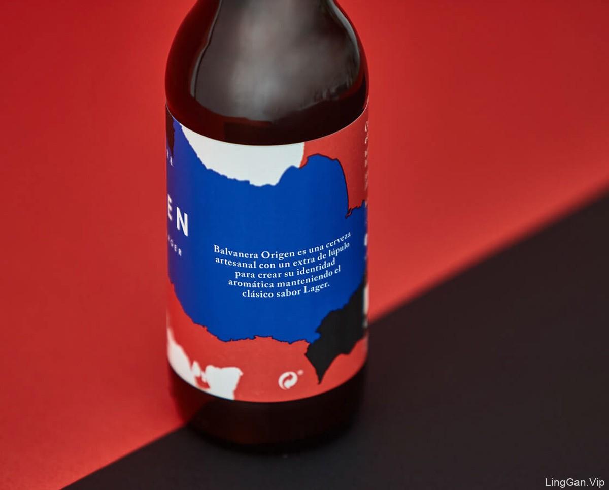 红蓝搭配!啤酒包装设计