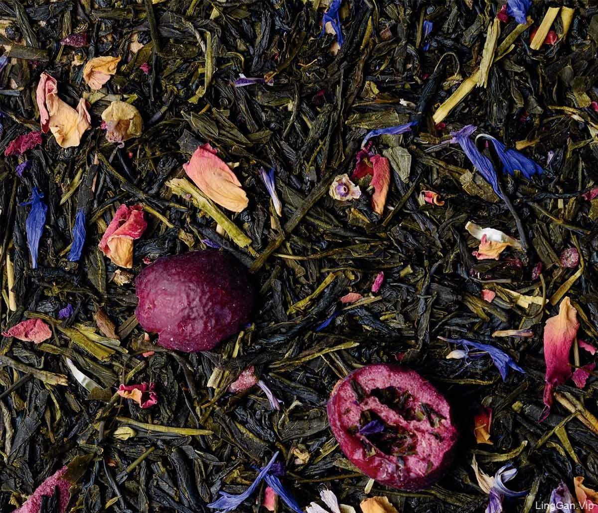 色彩图形!茶叶包装设计