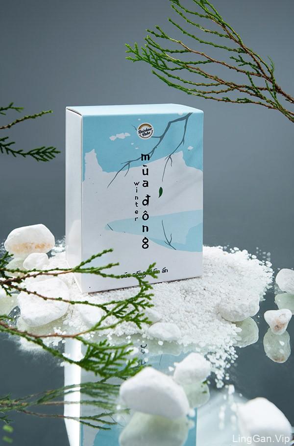 四季主题!月饼礼盒包装设计