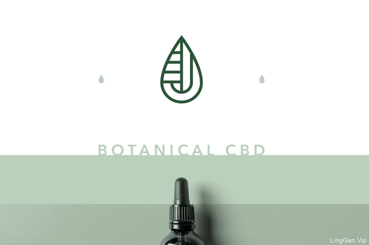 清新绿色!植物营养品包装设计