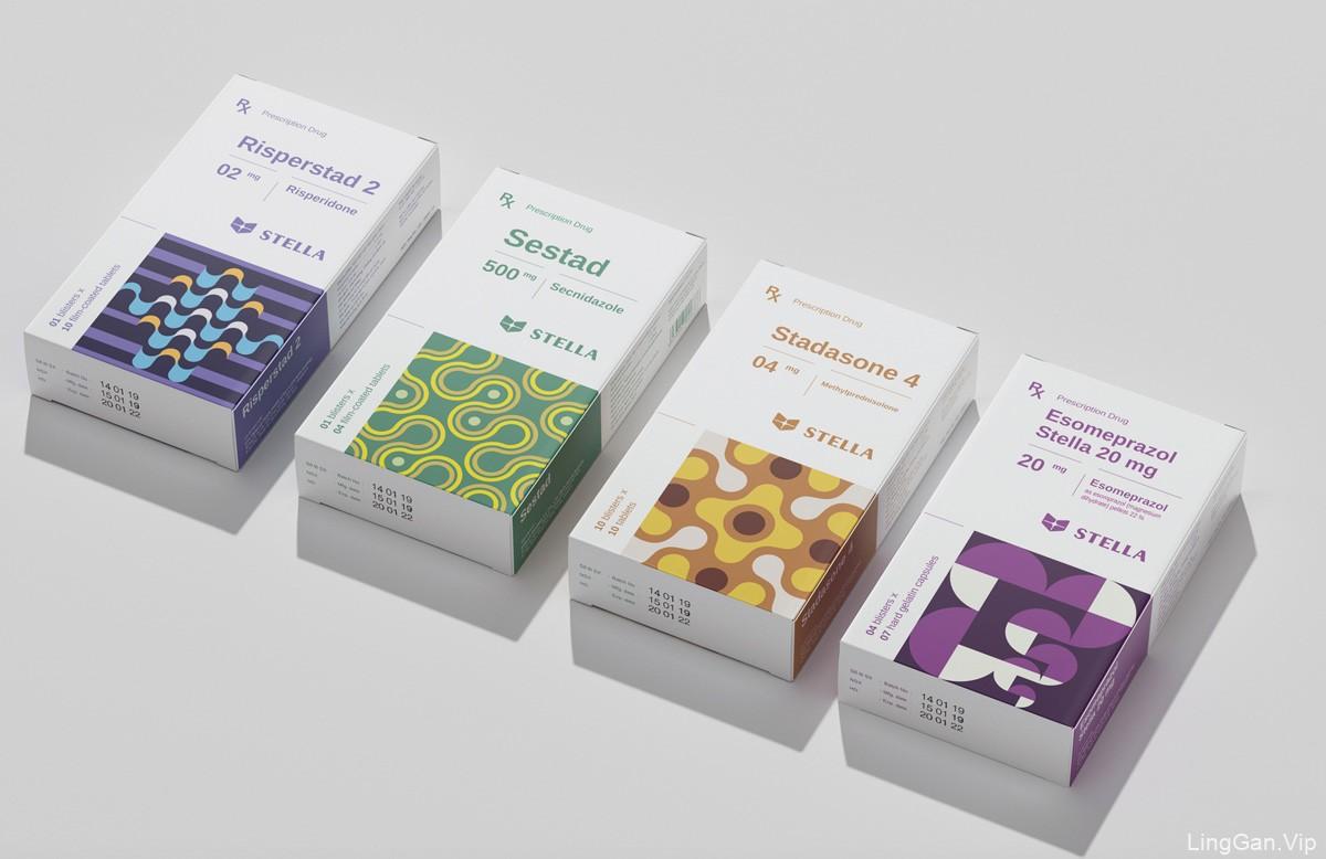 抽象概念!医药产品包装设计