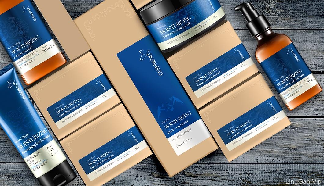 化妆品设计、化妆品包装设计、捷登设计