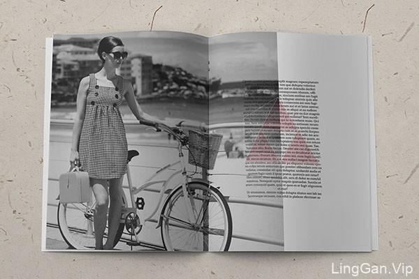国外时尚简约风格的画册设计作品赏析