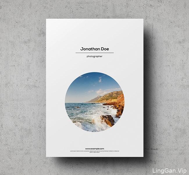 国外Jonathan Doe时尚摄影画册模版设计分享