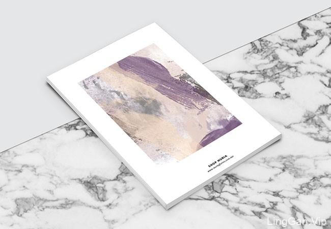 国外Nuria Farres女性时尚服装品牌杂志画册设计