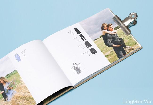 国外RISK时尚服饰品牌企业画册设计欣赏