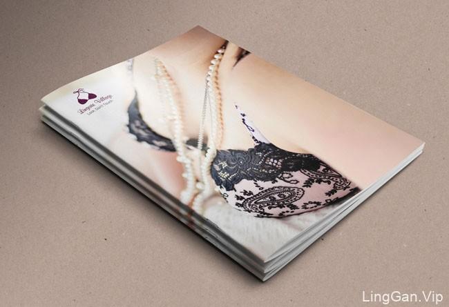 国外Lingerie女性内衣企业品牌目录画册设计22P
