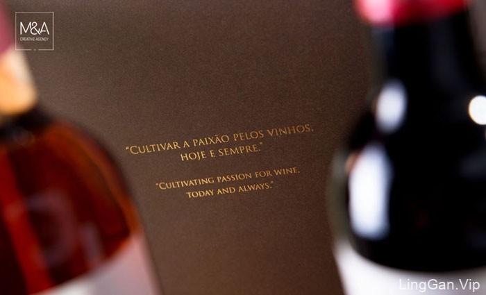葡萄牙创意机构葡萄酒画册设计QUINTA DE CURVOS