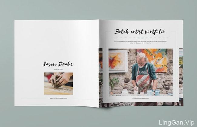 又一篇国外的Botak艺术画册设计分享