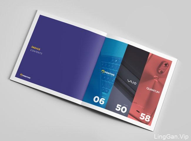 2017年最新的Positivo目录画册设计分享11P