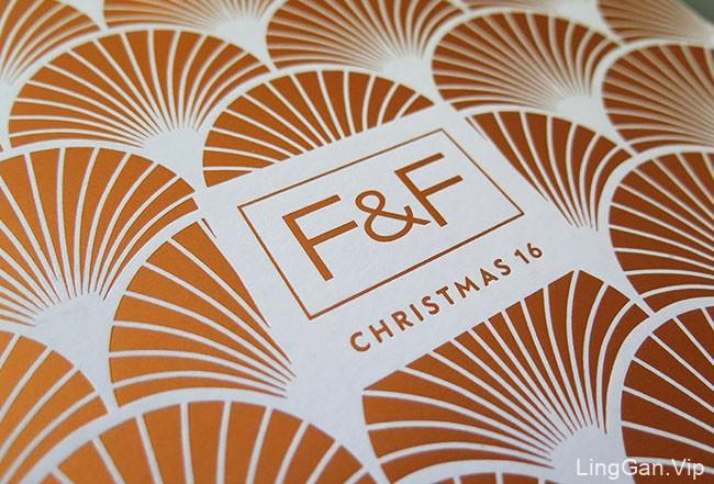 国外F&F 2016圣诞目录画册设计赏析15P