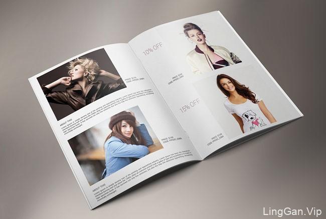 国外设计师ROCK design时尚画册模版设计分享15P
