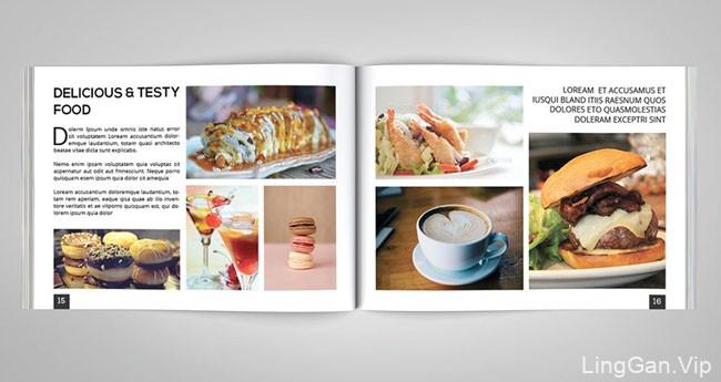国外的Jhon Smith时尚摄影画册设计分享16P