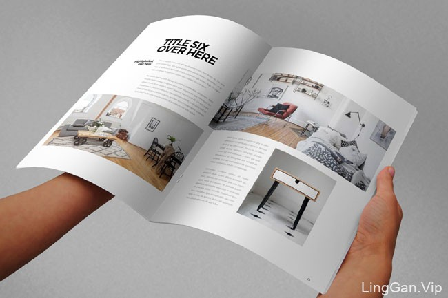 国外设计师Abra Design简洁目录画册设计模板分享