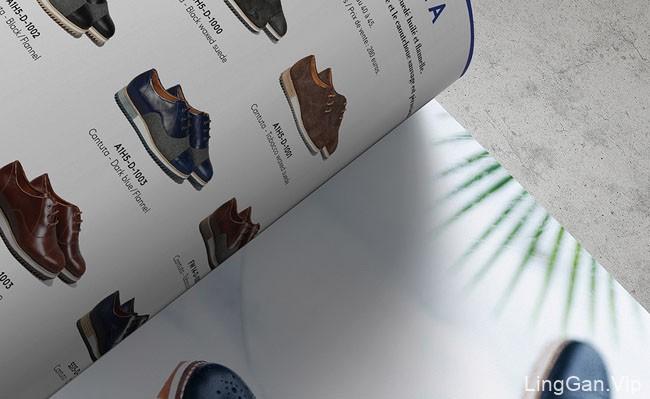 国外Piola高端运动鞋品牌画册设计分享