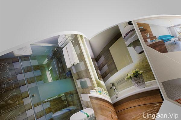 国外Wonasis酒店企业画册设计分享