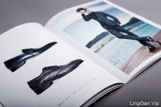 国外Cohibas男士鞋子品牌画册设计分享