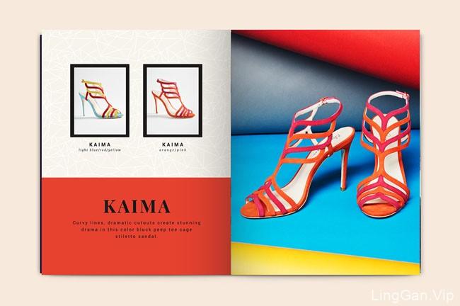 国外ELEANOR ANUKAM女鞋品牌产品展示画册设计分享