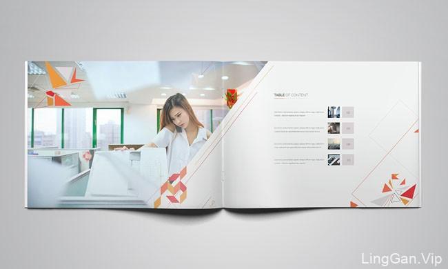 国外设计师Raf Redwan企业画册个性设计分享18P