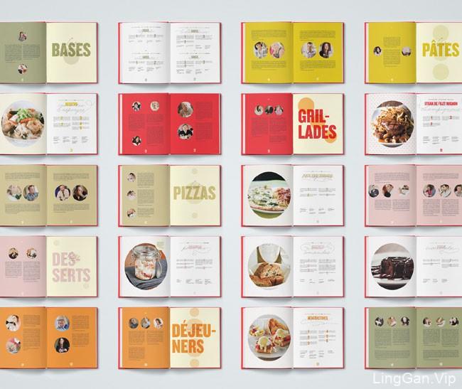 国外Pacini餐厅餐饮食谱画册设计分享