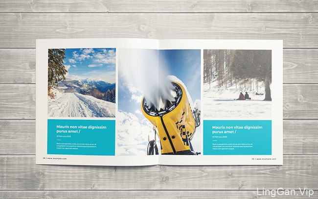 介绍一本小清新版的摄影主题方版画册模版设计