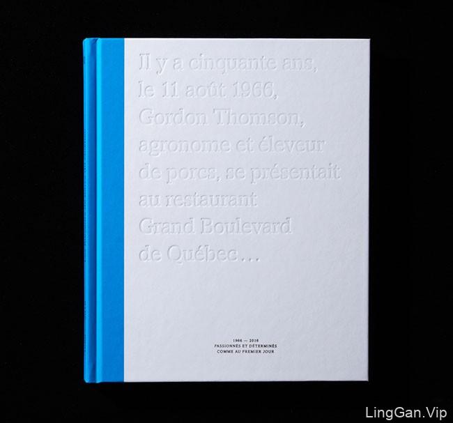 国外LesEleveurs生猪饲养50周年纪念手册/画册设计