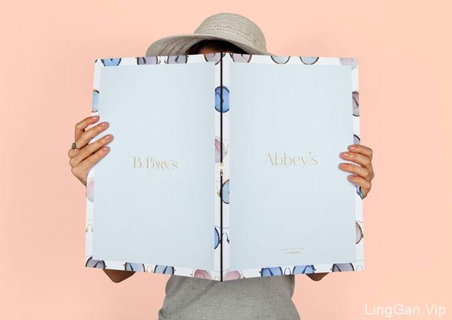 国外B.Barn时尚眼镜品牌画册设计分享