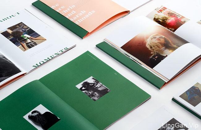 美国设计师Kati Forner最新时尚画册设计分享16P