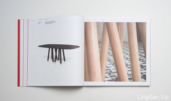 大红色的AL2家具画册设计分享