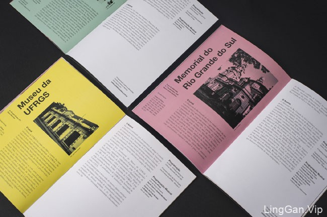国外NoitedosMuseus博物馆之夜活动指南画册设计