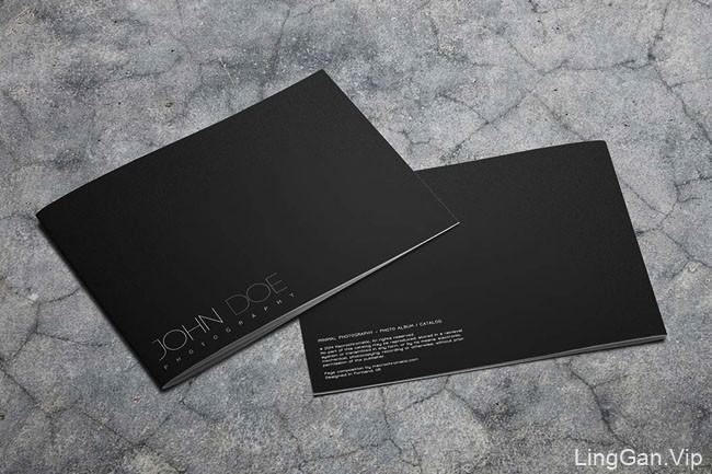 国外JOHN DOE黑白风格的艺术摄影画册设计分享