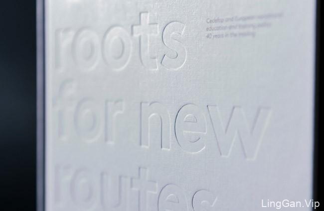 欧盟Cedefop机构40周年纪念画册设计分享