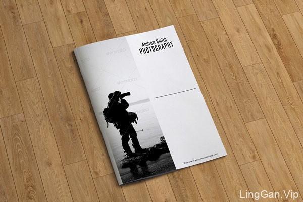 收集的12款极简洁风格国外画册封面设计作品欣赏