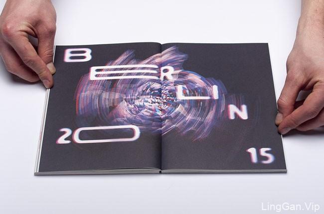 国外某红色版视觉传达目录画册设计