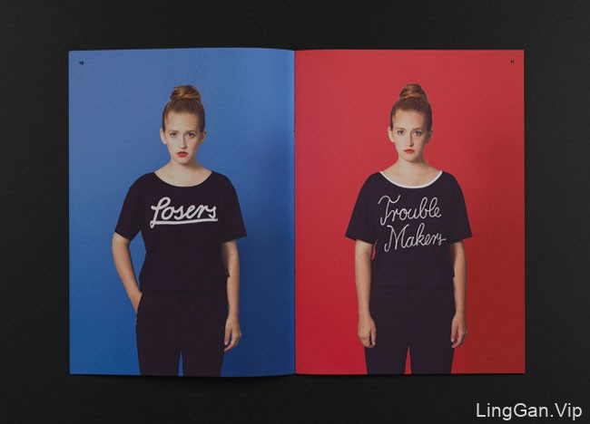 国外FUN TIME时装品牌目录画册设计分享