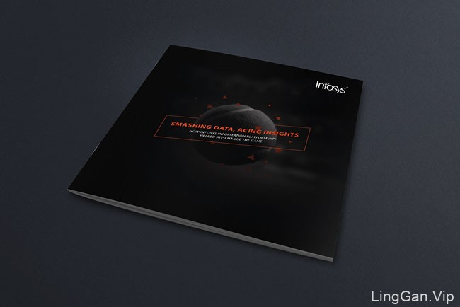 再次收集的印度Infosys公司经典画册设计案例分享