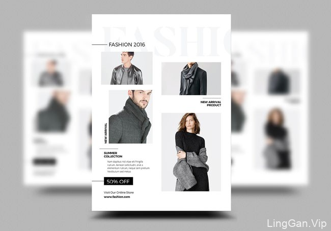 印尼设计师TimphanCo时尚宣传单模版设计