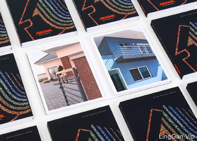 国外Maxima马赛克装饰品牌目录画册设计